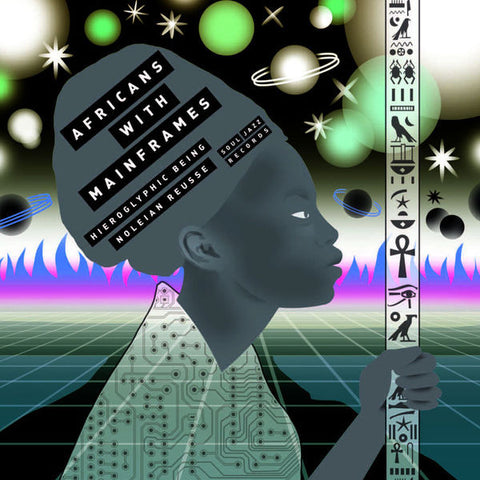 Africans with Mainframes - K.M.T. - 2xLP - Soul Jazz Records - SJRLP 333