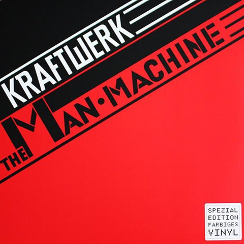 Kraftwerk - The Man Machine - LP - Kling Klang/Parlophone ‎- 50999 9 66022 1 8