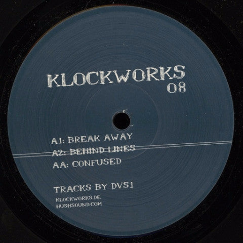 "DVS1 - Break Away - 12"" - Klockworks - KW08"