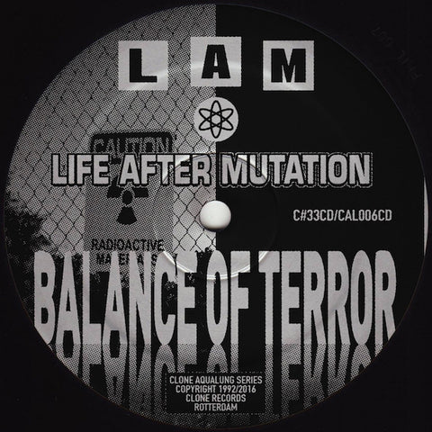 "L.A.M. - Balance of Terror - 12"" - Clone Aqualung Series - CAL006CD/C#33CD"