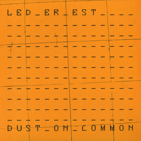 Led Er Est - Dust On Common - LP - Mannequin - MNQ 099