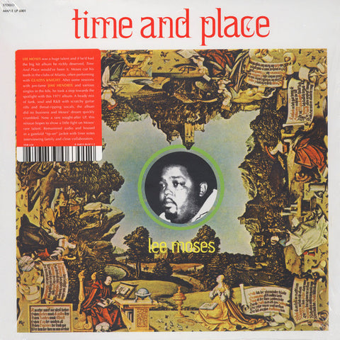 Lee Moses - Time and Place - LP - Future Days Recordings - FDR 630