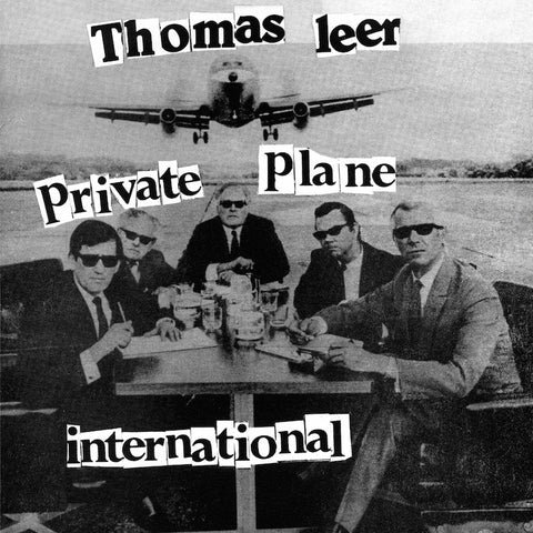 "Thomas Leer - Private Plane / International - 12"" - Dark Entries - DE-088"