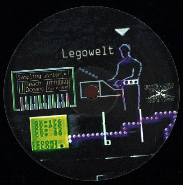 "Legowelt - Sampling Winter - 12"" - Unknown To The Unknown - UTTU060"