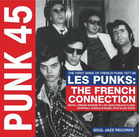 VA - Les Punks : The First Wave of French Punk 1977-1980 - 2xLP - Soul Jazz Records - SJRLP354