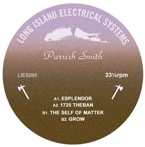 "Parrish Smith ‎– Esplendor - 12"" - LIES-095 - PREORDER"