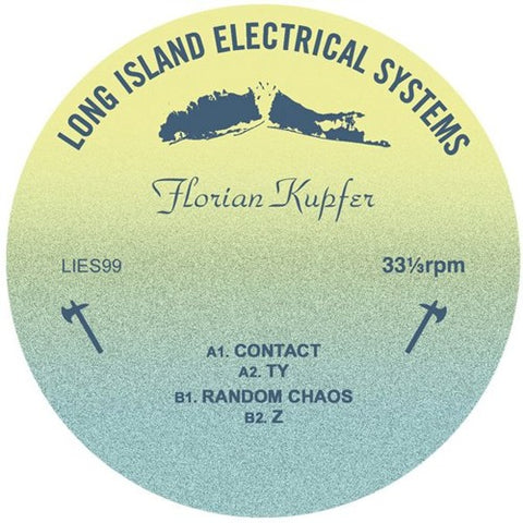 "Florian Kupfer - Contact - 12"" - LIES 099"