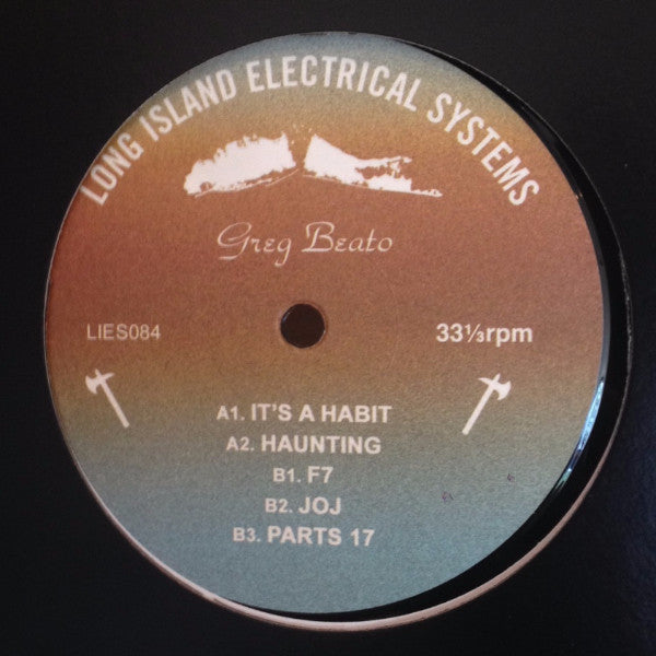 "Greg Beato - 12"" - LIES 084"