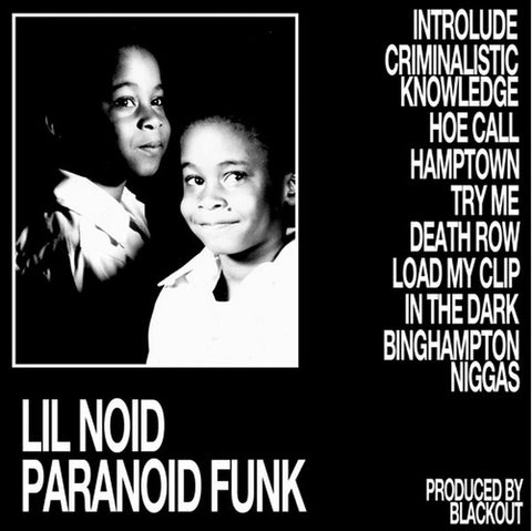Lil Noid - Paranoid Funk - LP - LA Club Resource - LACR 017