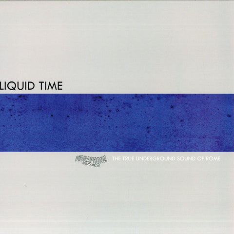 "Liquid Time - Sonic Crystals - 12"" - Vibraphone Records - VIBR 003"