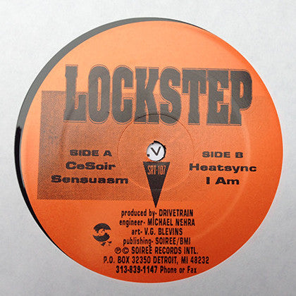 "Lockstep - Lockstep EP - 12"" - Soiree Records International - SRT 107"