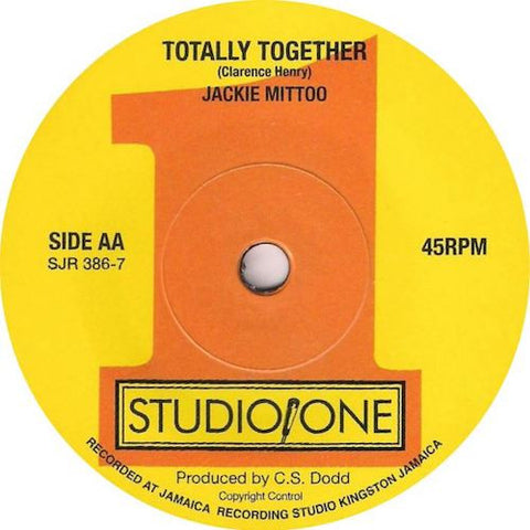 "Lord Tanamo / Jackie Mittoo - Keep on Moving / Totally Together - 7"" - Soul Jazz Records - SJR386-7"