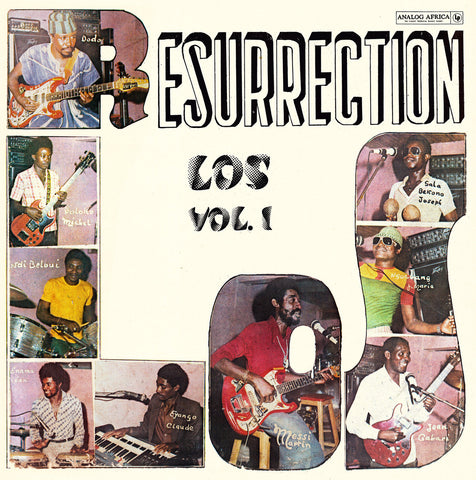 Los Camaroes - Resurrection Los - LP - Analog Africa - AADE07