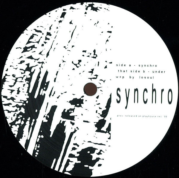 "Losoul - Synchro - 12"" - Another Picture - APP 04"