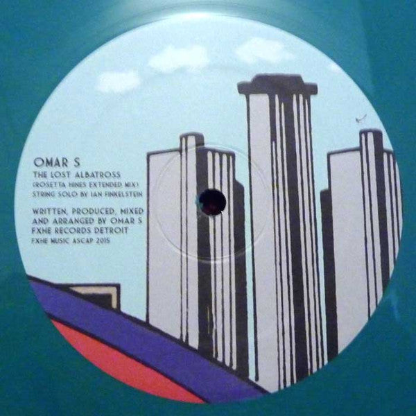 "Omar-S - The Lost Albatross - 12"" - FXHE - AOS410"