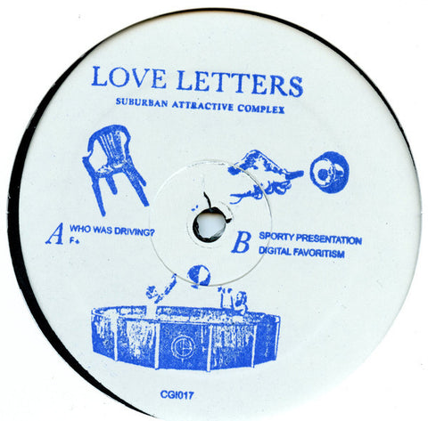 "Love Letters - Suburban Attractive Complex - 12"" - CGI Records - CGI017"