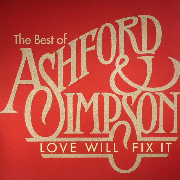 Ashford & Simpson - Love Will Fix It - 2xLP - Groove Line Records - GLRLP 0004