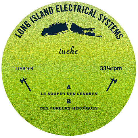 "lueke - EP - 12"" - L.I.E.S. Records ‎- LIES164"