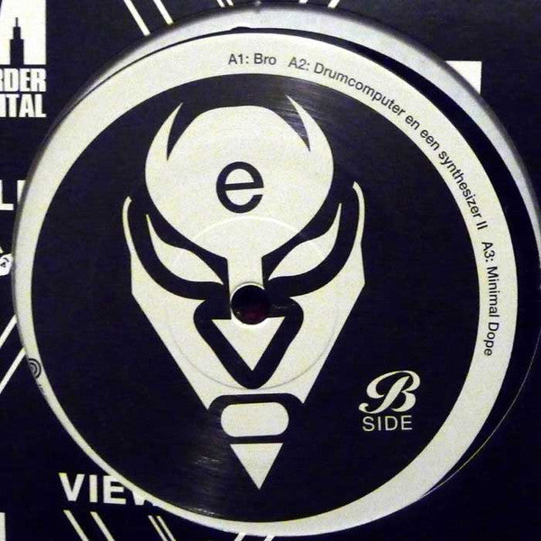 "Electronome - 12"" - Murder Capital - M-008"