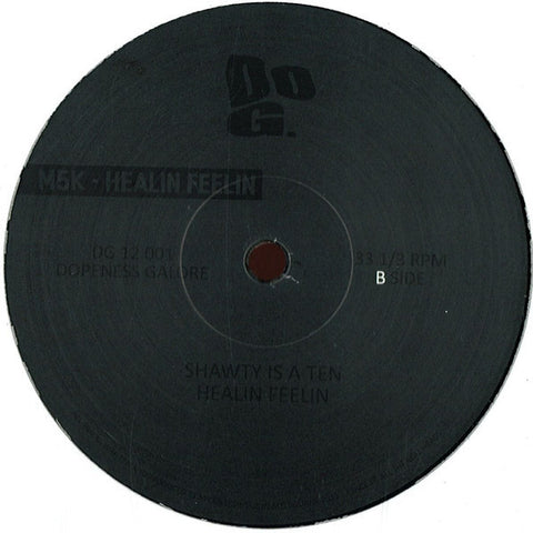 "M5K - Healin Feelin - 12"" - Dopeness Galore - DG 12 001"