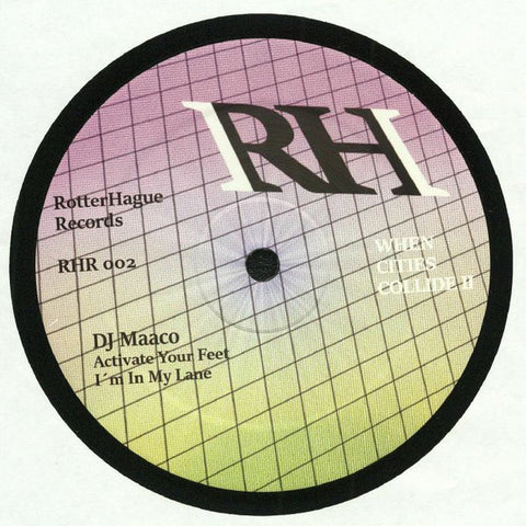 "DJ Maaco / DJ Overdose - When Cities Collide II - 12"" - RotterHague Records - RHR 002"
