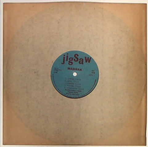 Mabrak - Drum Talk - LP - Jigsaw / Dug Out - DO-JS005
