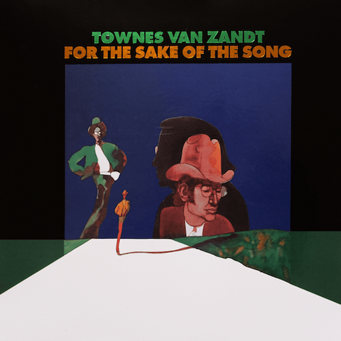 Townes Van Zandt - For the Sake of the Song - LP - Fat Possum Records - FP1087-1