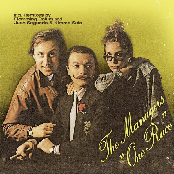 "The Managers - One Race - 12"" - ZYX Music ‎- MAXI 1048-12"