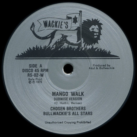 "Chosen Brothers - Mango Walk - 12"" - Rhythm & Sound - RS-02"