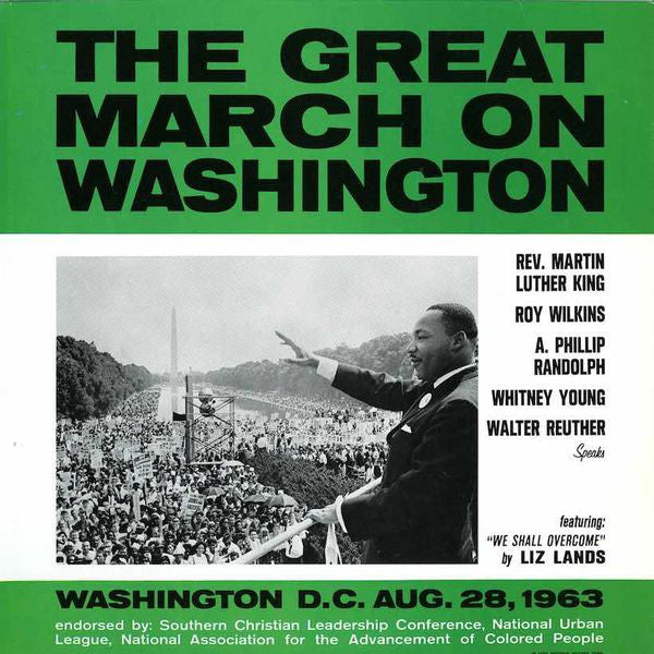 VA - The Great March On Washington - LP - Motown ‎- B0032963-01