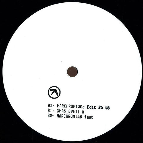 "Aphex Twin - MARCHROMT30a Edit 2b 96 - 12"" - Warp Records - WAP381"