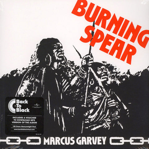 Burning Spear - Marcus Garvey - LP - Island Records - 535 147-3