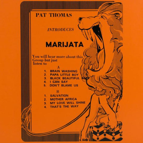 Pat Thomas introduces Marijata - LP - Mr Bongo - MRBLP158