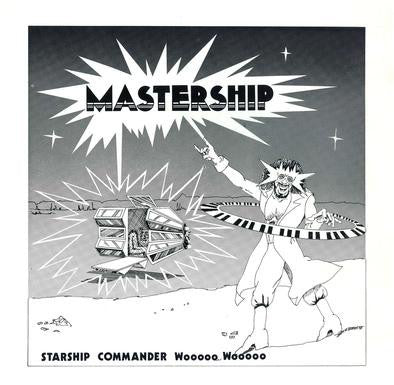 Starship Commander Wooooo Wooooo - Mastership - LP - Left Ear Records - LER 1005