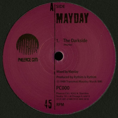 "Mayday - The Darkside - 12"" - Pheerce Citi - PC000"
