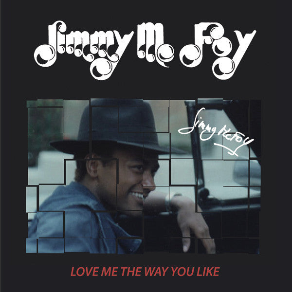 Jimmy McFoy - Love Me The Way You Like - LP - I.D. Limited - I.D.L. 020