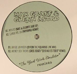 "Max Graef & Glenn Astro - The Yard Work Simulator - Remixes - 12"" - Ninja Tune - ZEN12449"