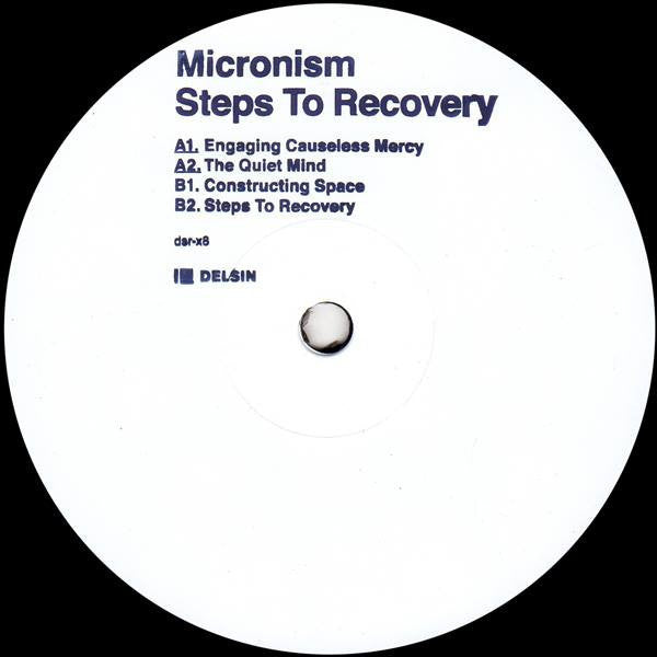 "Micronism - Steps To Recovery - 12"" - Delsin - dsr-x8"