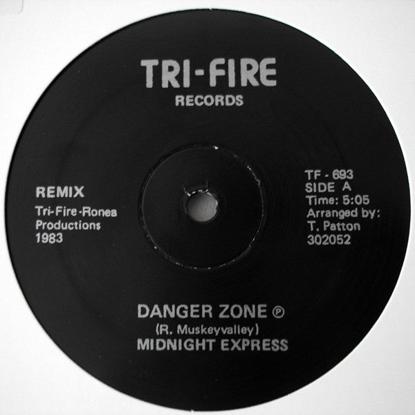 "Midnight Express - Danger Zone - 12"" - Peoples Potential Unlimited - TF-693"