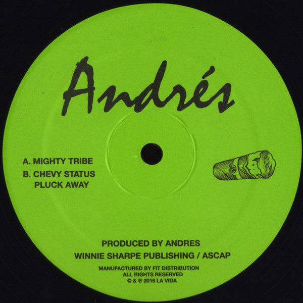 "Andrés - Mighty Tribe - 12"" - La Vida 004"