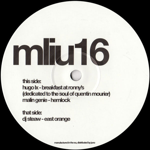 "VA - 2x12"" - My Love Is Underground - mliu16"