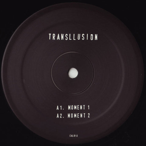 "Transllusion - A Moment of Insanity - 12"" - Clone - CAL012"