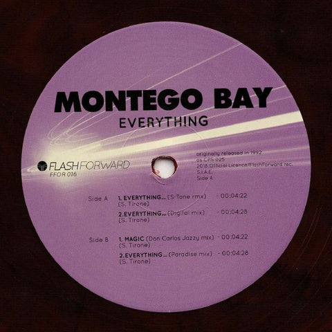 "Montego Bay - Everything... - 12"" - Flash Forward - FFOR016"