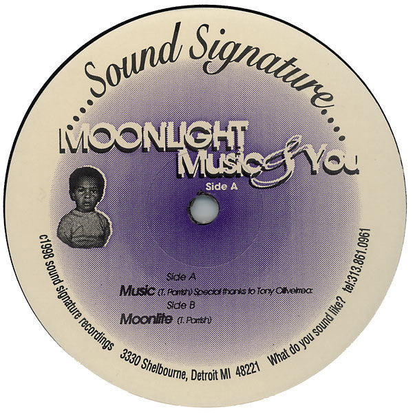 "Theo Parrish - Moonlight Music & You - 12"" - Sound Signature - SS002"