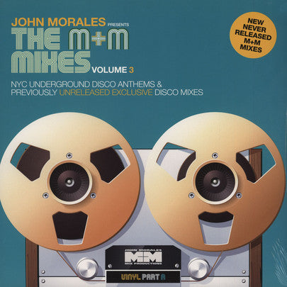 "John Morales - The M+M Mixes Vol 3 Part A - 2x12"" - BBE 211CLP"