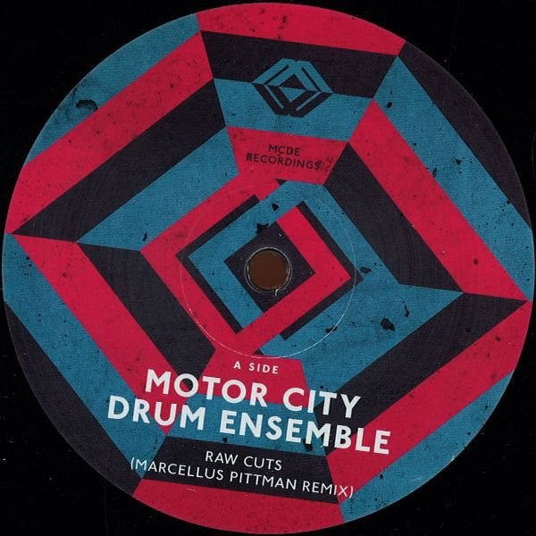 "Motor City Drum Ensemble - Raw Cuts (Remixes) - 12"" - MCDE ‎- MCDE 1211"