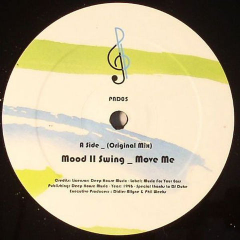 "Mood II Swing - Move Me - 12"" - P&D - PND05"