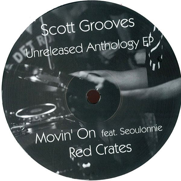 "Scott Grooves - Unreleased Anthology EP - 12"" - Modified Suede Recordings - MS-004"