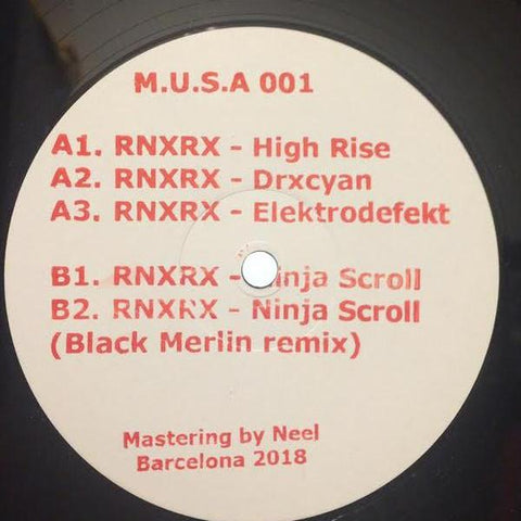 "RNXRX - Ninja Scroll - 12"" - Struments - MusaStr001"