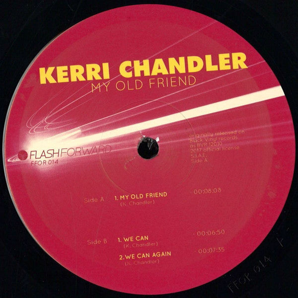 "Kerri Chandler - My Old Friend - 12"" - Flash Forward - FFOR014"